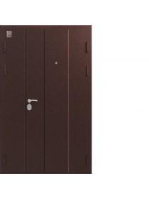 Дверь входная C-130 металл/металл двухстворчатая