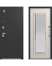 Дверь входная LUX - 1 щит МДФ 16 мм зеркало с фацетом