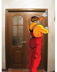 Монтажный к-т двухстворчатой двери