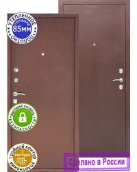 Дверь входная S 3/3 Медь, серебро
