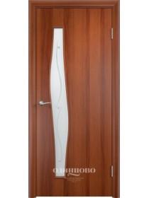 Дверь межкомнатная Волна Х Клен