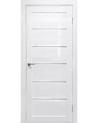 Дверь межкомнатная Линия белый глянец